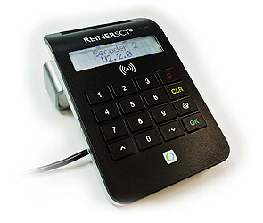 cyberJack RFID komfort (Komfort-Kartenleser von REINER SCT)